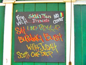Reggae Night at Shaka Taco's